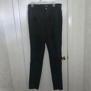 Black Fashion Nova Skinny Jeans